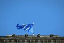 Low Angle View Of European Uni...
