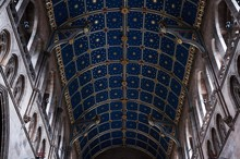 Low Angle View Of Carlisle Cathedral Ceiling