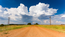 Rural Grassland Farming Area O...