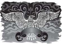 Emblem Of Spread Wings As Coat...