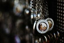 Close-up Of Souvenirs For Sale