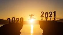 Happy New Year 2021, Sunset, M...