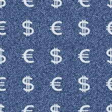 Vector Money Symbols. Denim Se...