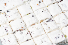Nougat On White