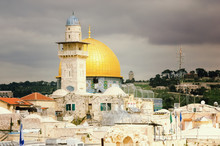 Golden Dome Mosque Old City Of...