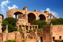 Ruins Of Basilica Of Constantine