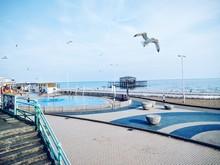 View Of Brighton Beach Walkway