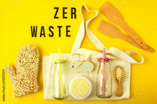 Zero waste concept Tapéta, Fotótapéta