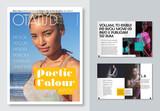Fashion Magazine Layout - 342073771