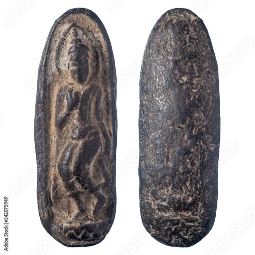 The amulet of Thailand, Buddha walking name is Phra leela, Thailand фототапет