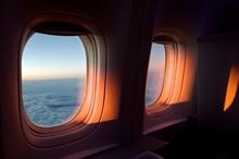 Windows Of Airplane