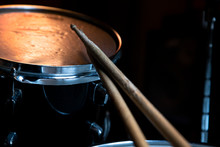Drumsticks And Drums. Music An...