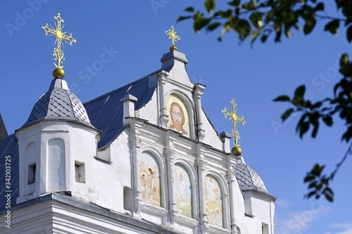 Photo St. Nicholas Orthodox Nunnery in Mogilev. Belarus.