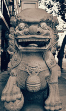 Guardian Lion (Foo Dog) Statue