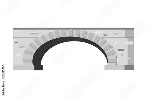 Valokuvatapetti Cartoon icon of greystones bridge