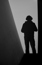 Silhouette Of Army Soldier