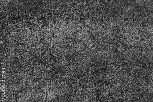 Fototapeta Rusted metal panel, macro shot obraz