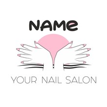 Logo For A Beauty And Nail Bus...