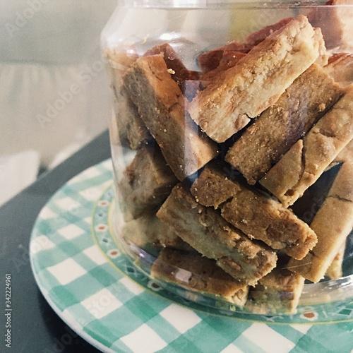 Fototapeta Homemade Cookies In Jar