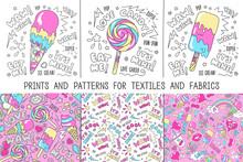 Art Set. Prints And Patterns F...