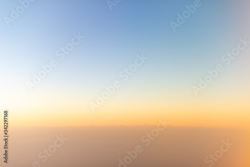 Scenic View Of Sky During Sunset - fototapety na wymiar