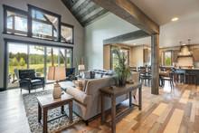 Living Room Luxury Interior Wi...