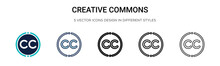 Creative Commons Icon In Fille...