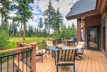 Beautiful Large Cabin Home  Wi...