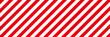赤と白のシンプルなストライプ