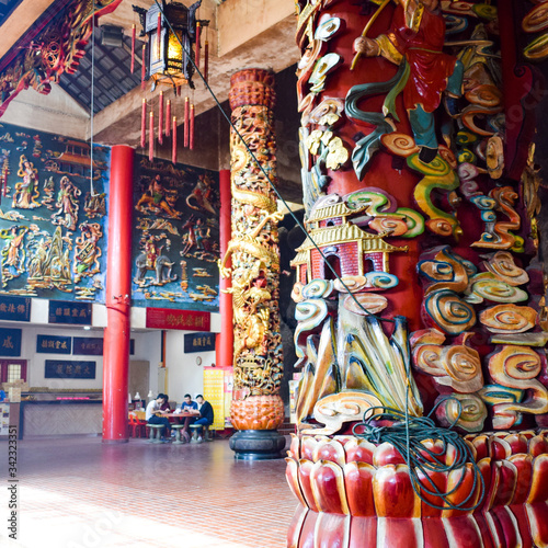 Fototapeta The Chin Swee Caves Temple is a Taoist temple in Genting Highlands, Pahang, Mala