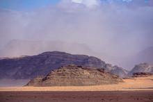 WADI RUM DESERT, JORDAN - FEBR...