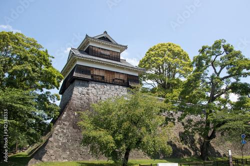 Burg Kumamoto Tableau sur Toile