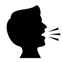 Cough Vector Icon