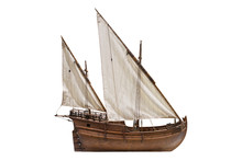 2 Mast Lateen Rigged Caravel. ...