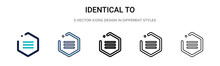 Identical To Symbol Icon In Fi...