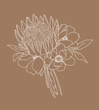 Boho Flowers And Foliage - Kin...