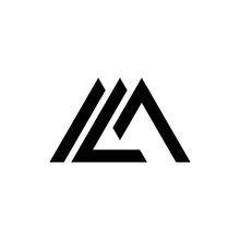 Letter ML, LM Logo