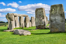 Stonehenge - Close View Of The...