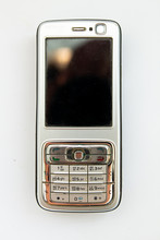 Old Push-button Smartphone On ...