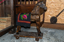 Very Old Rocking Horse For Chi...