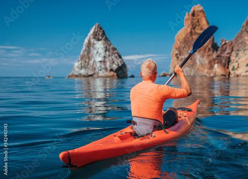 Valokuvatapetti Kayak