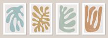 Set Of Matisse Inspired Contem...