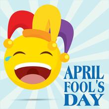April Fool Day Poster