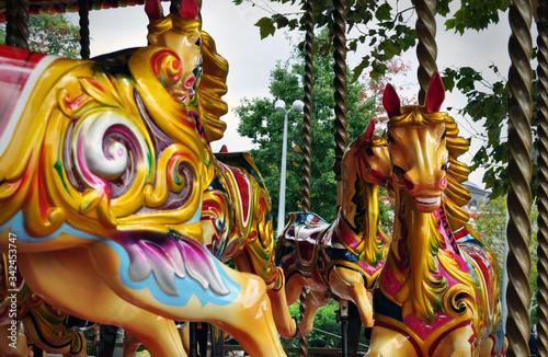 Valokuva merry go round carousel