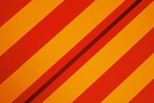 Full Frame Shot Of Striped Red And Yellow Canvas