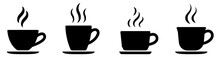 Coffee Cup Icon Set. Cups Of C...