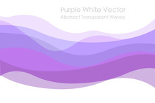 Purple Waves Abstract. Free Wh...