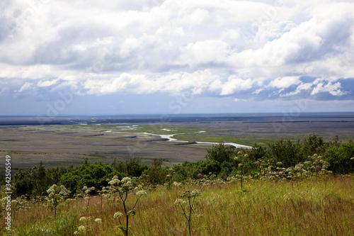 Photo Skaftafell / Iceland - August 18, 2017: Landscape at Skaftafell National Park, I