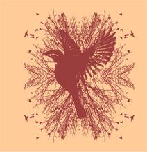Tattoo Tribal Birds Print And ...