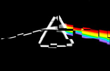 Triangular Prism Breaks Light ...